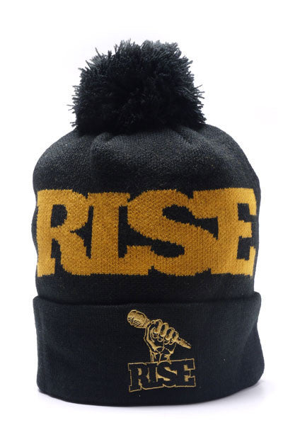 R.I.S.E. KNIT TOQUE