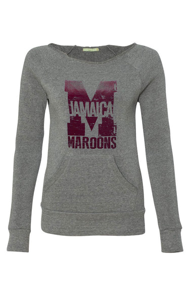 JAMAICA MAROONS WOMEN'S LONG SLEEVE CREW
