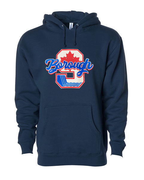 "THE ""BOROUGH"" HOODIE + FREE ""BOROUGH"" TEE"