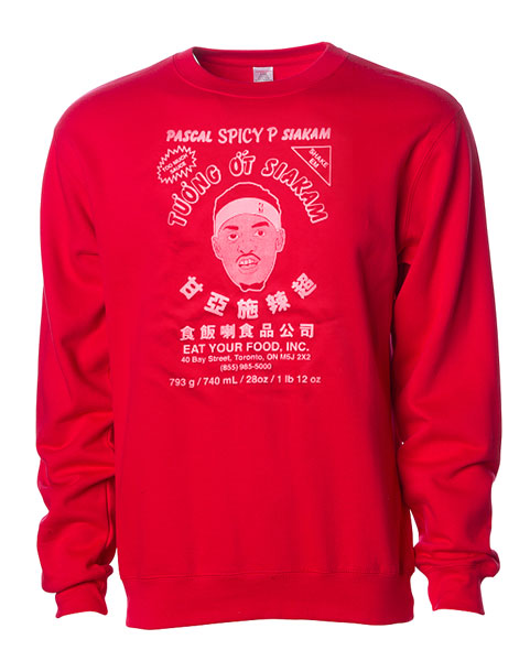"""SPICY P"" CREW SWEATER"
