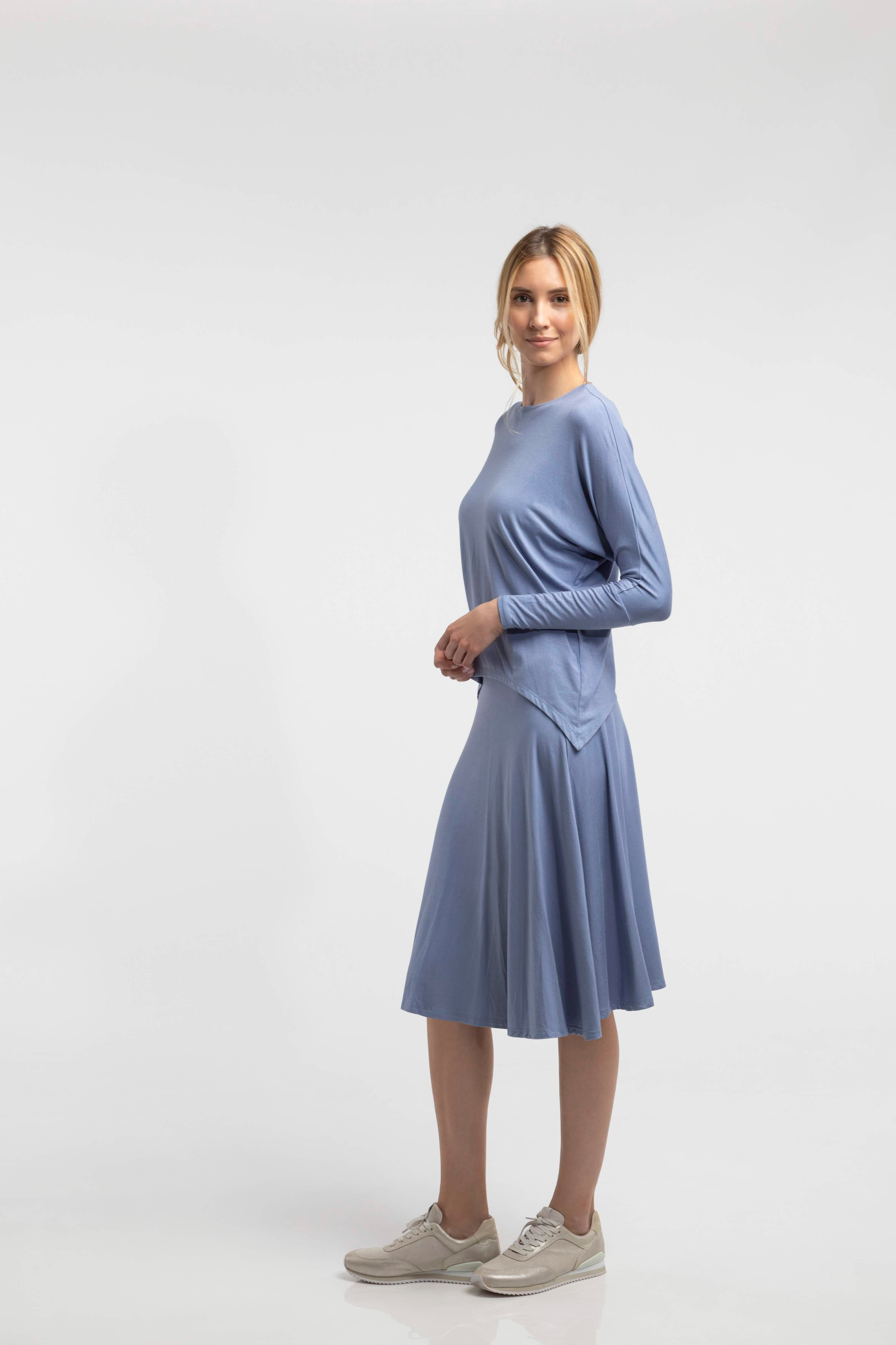 Flex Skirt - Sky Blue