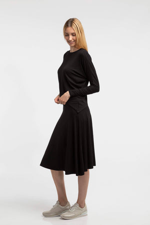 modest below the knee skirt for women and teens
