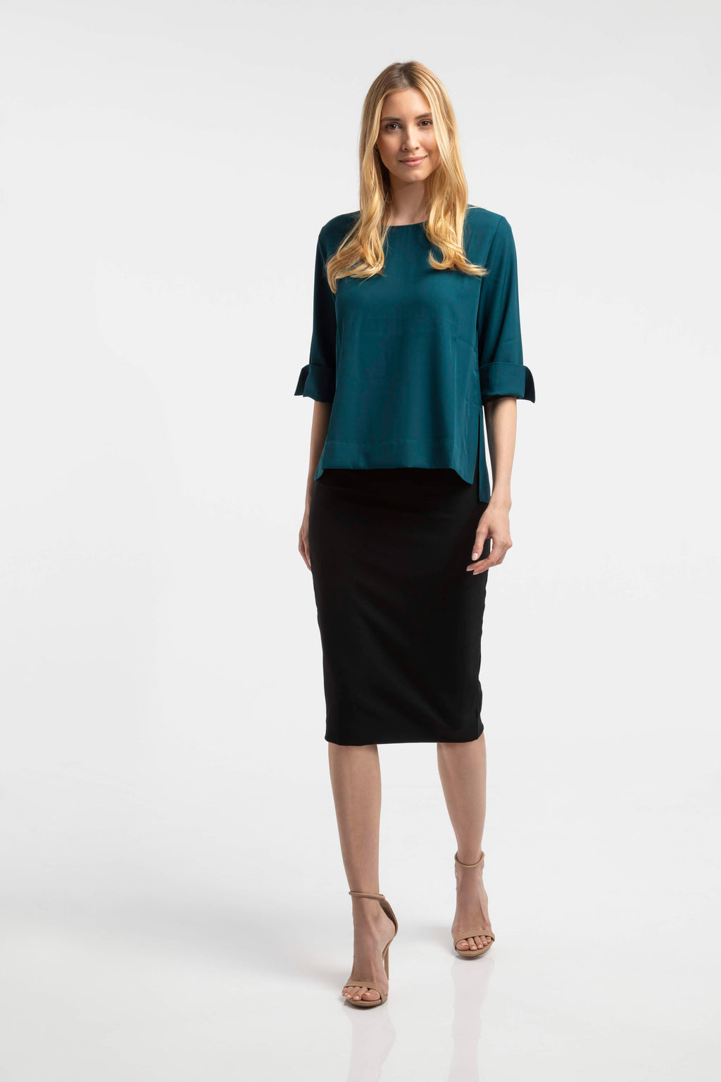 casual modest beautiful pencil skirt