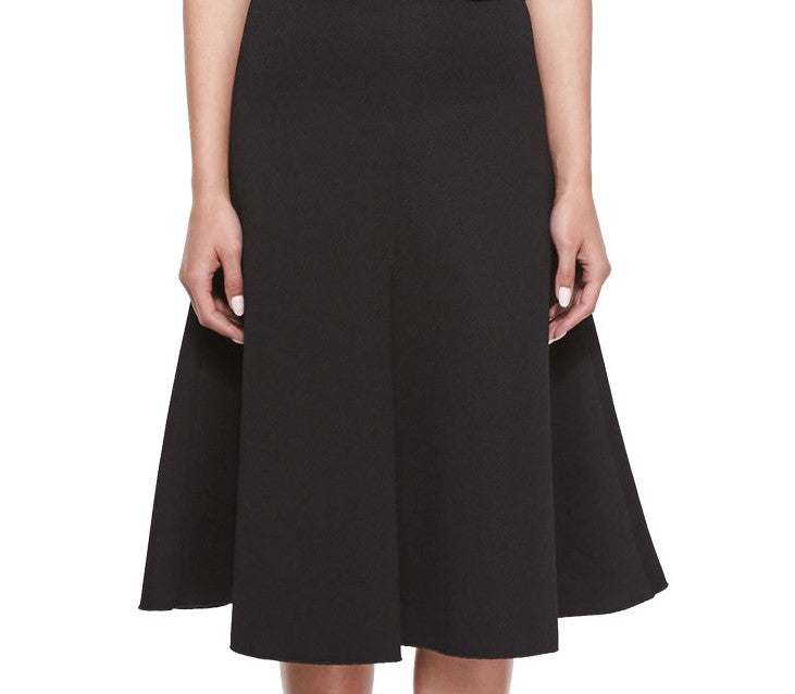 The Flared Skirt - Black