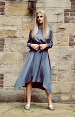 The Eve Party Dress - Periwinkle