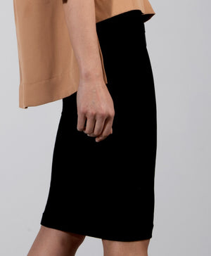 Below The Knee Pencil Skirt - available in 4 colors
