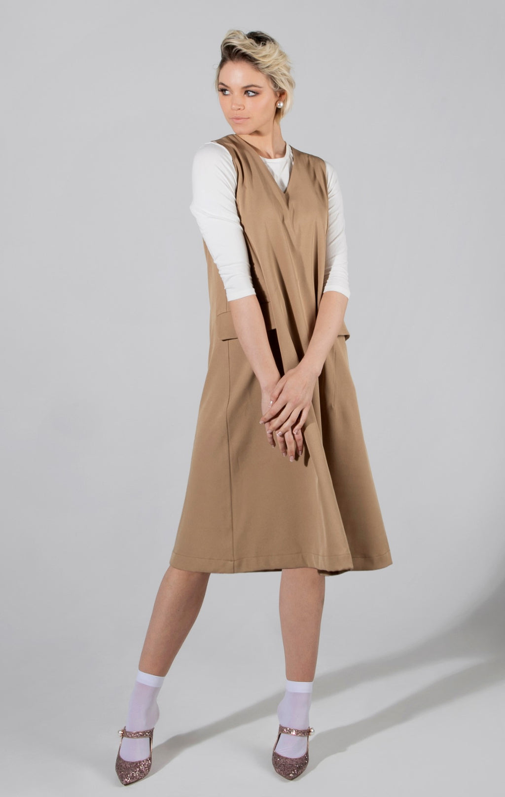 Vest Dress - available in 2 colors - FINAL SALE!