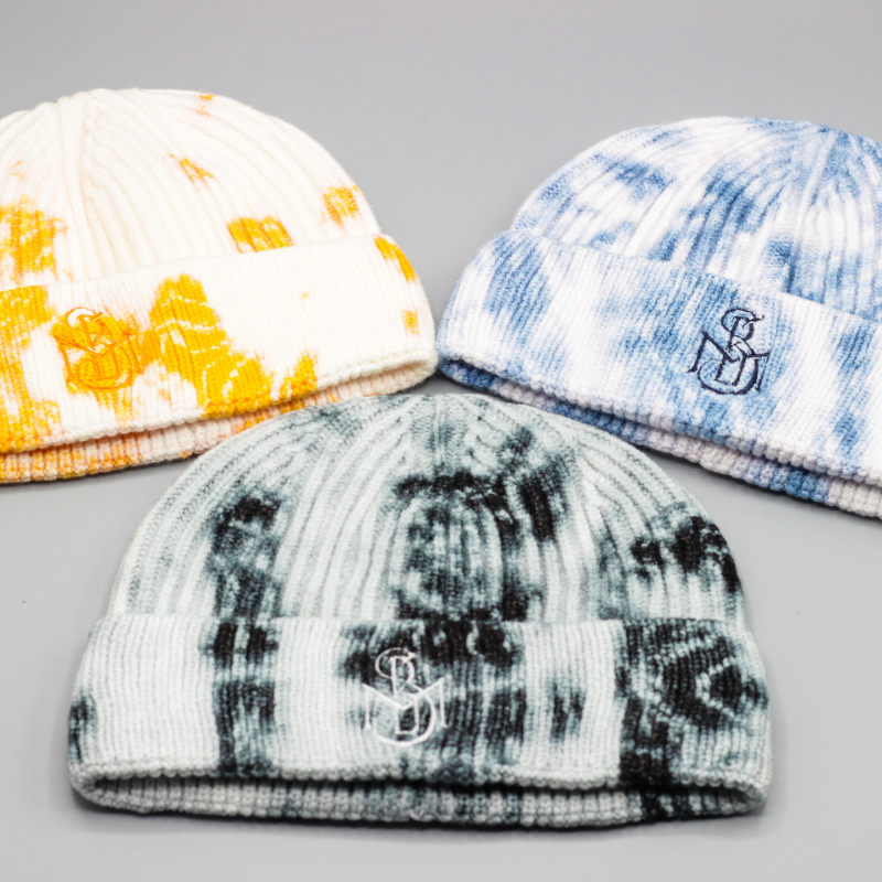 Tie Dye Signature Beanie Hats - Styles By Myles