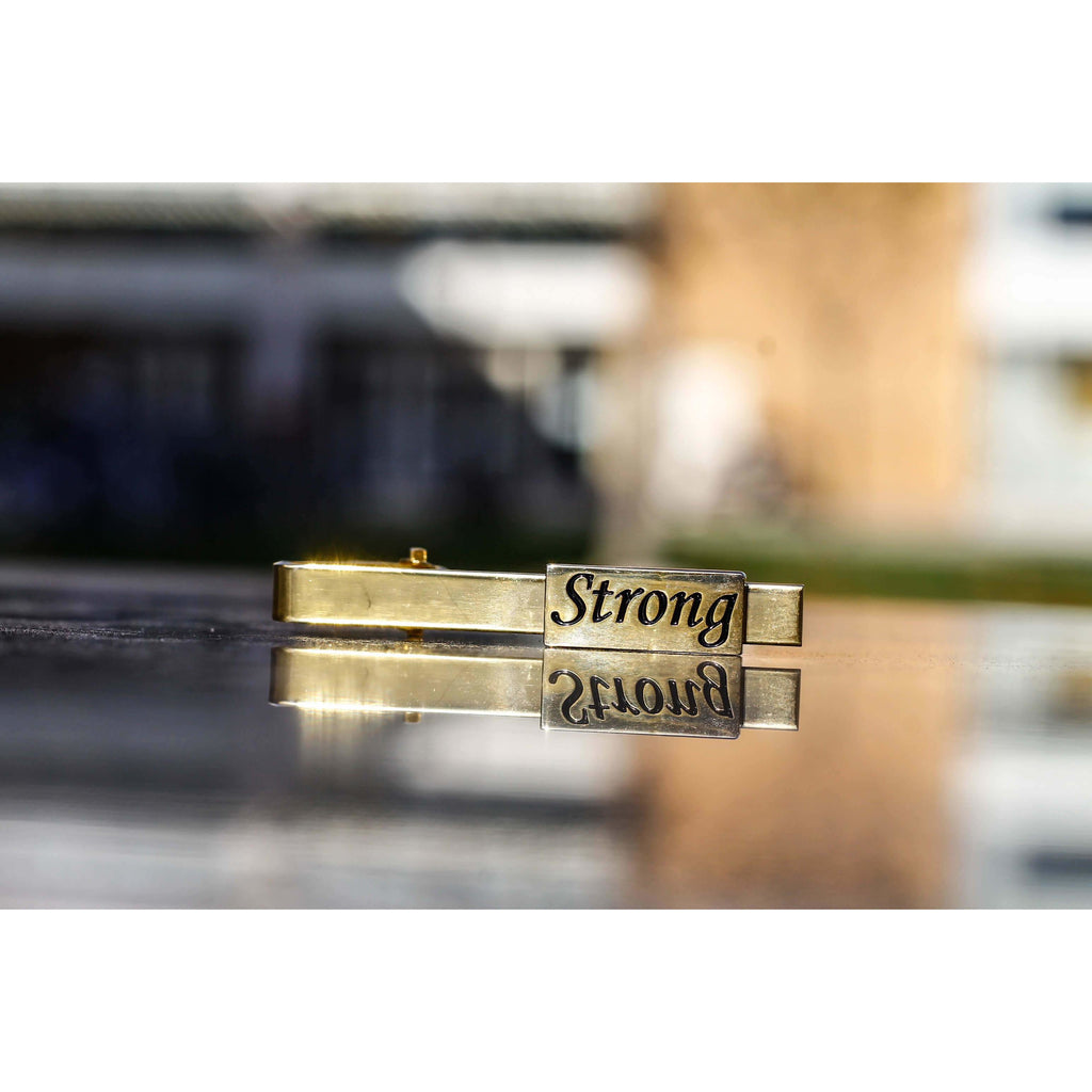 Strong Tie Clip-I am___.