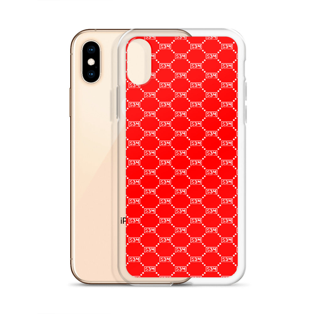 SBM Red Out iPhone Case - Styles By Myles