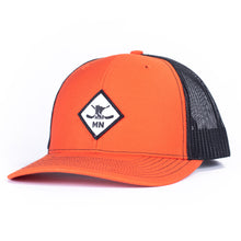 Load image into Gallery viewer, CLASSIC DIAMOND 112 - ORANGE/BLACK