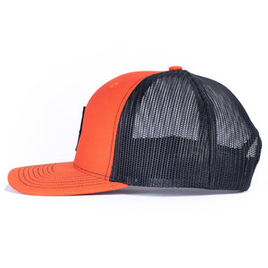 CLASSIC DIAMOND 112 - ORANGE/BLACK