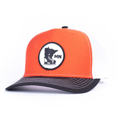 CLASSIC 112 - WHITE/ORANGE/BLACK