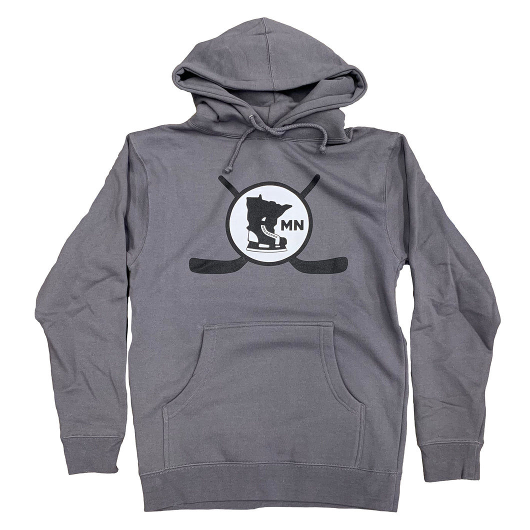 SOLID CHARCOAL - hoodie