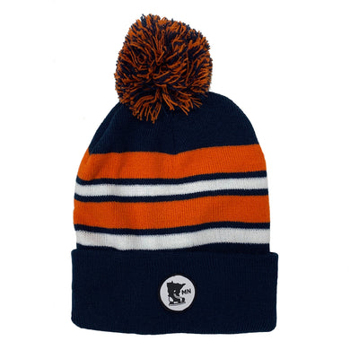 DEEP NAVY-ORANGE-WHITE - STOCKING HELMET