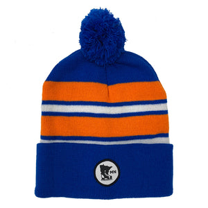 BLUE-ORANGE-WHITE - STOCKING HELMET
