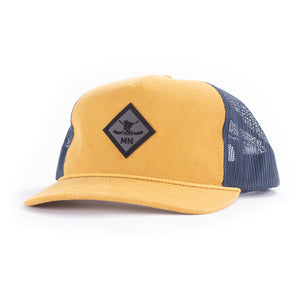 DIAMOND 930 - AMBER GOLD/NAVY