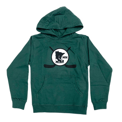 ALPINE GREEN - YOUTH HOODIE