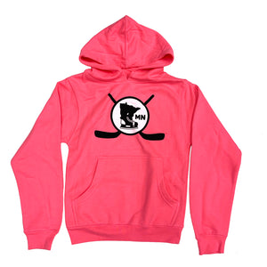 NEON PINK - YOUTH HOODIE