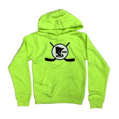 SAFETY YELLOW - YOUTH HOODIE