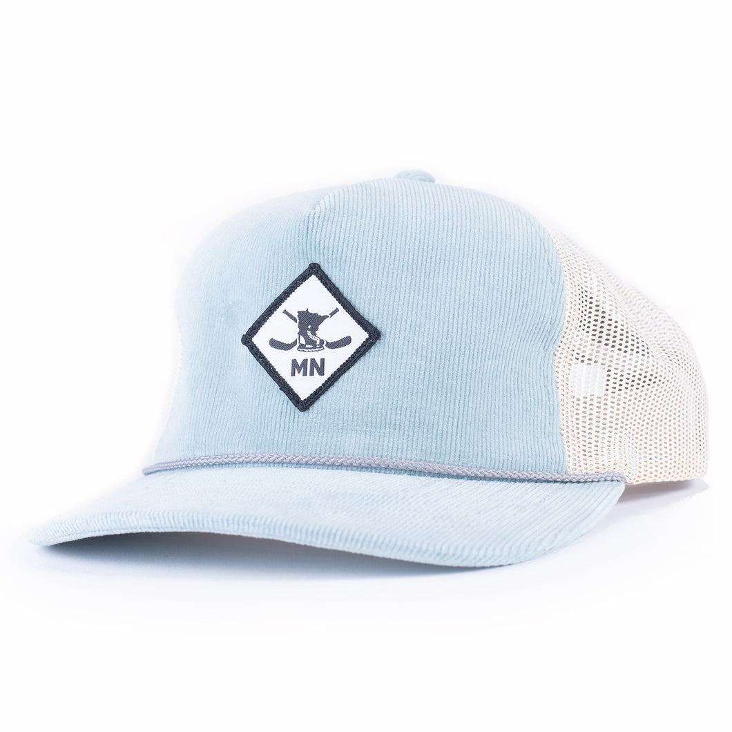 WHITE DIAMOND 930 - LIGHT BLUE/SAND
