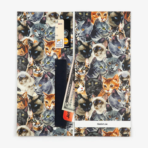 Cute Cat Travel Wallet - The Walart - Paper Wallet