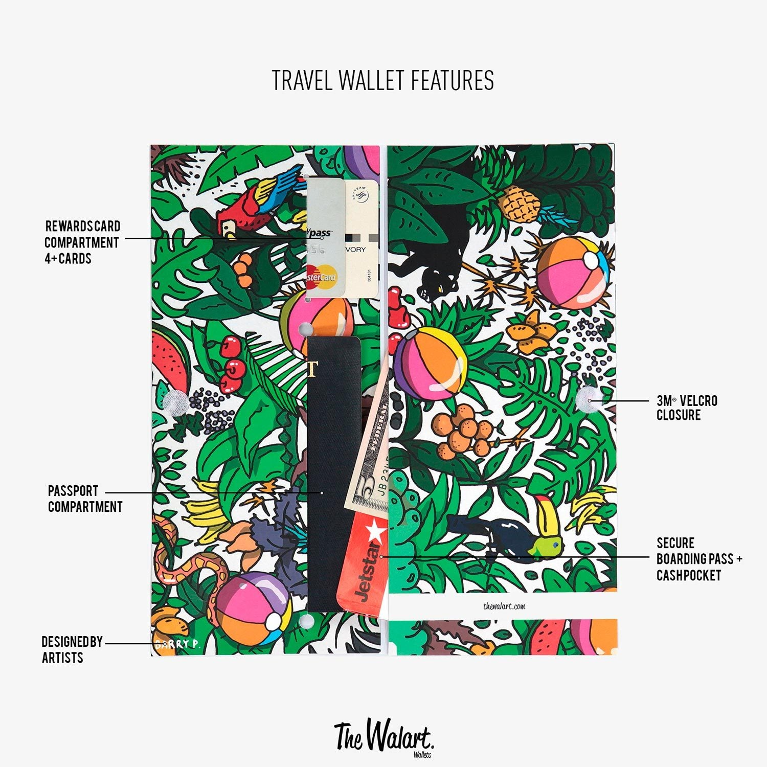 Nebula Travel Wallet