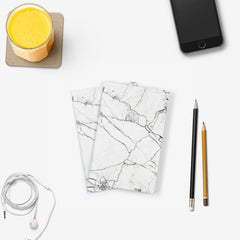 White Marble Notebook 2PK - The Walart - Paper Wallet