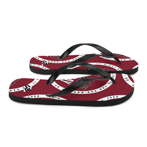 All Day Every Day - Flip-Flops Maroon