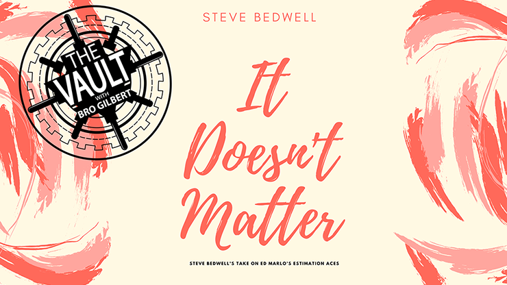 The Vault - It Doesn't Matter von Steve Bedwell video DOWNLOAD
