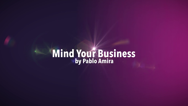 Mind Your Business Project von Pablo Amira video DOWNLOAD - JCM STORE