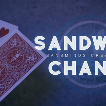 Sandwich Change (Gimmicks und DVD) von SansMinds Creative Labs