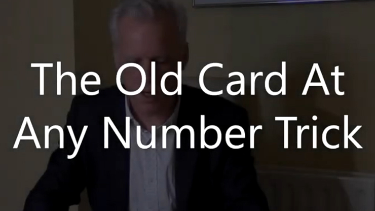 TOCAANT (The Old Card At Any Number Trick) von Brian Lewis video DOWNLOAD