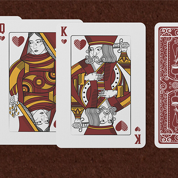 Hops & Barley (Deep Amber Ale) von JOCU Playing Cards