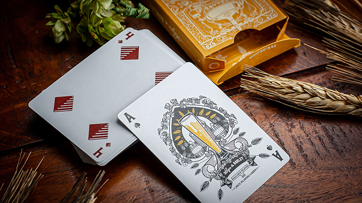 Copy of Hops & Barley (Deep Amber Ale) von JOCU Playing Cards