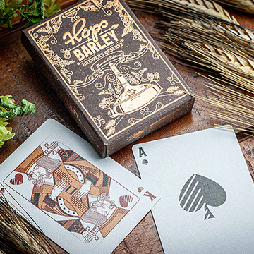 Hops & Barley (Copper) von JOCU Playing Cards