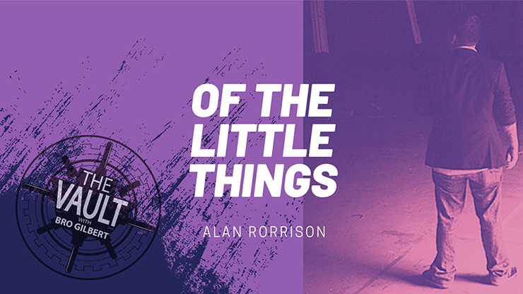 The Vault - Of the Little Things Vol. 1 von Alan Rorrison video DOWNLOAD