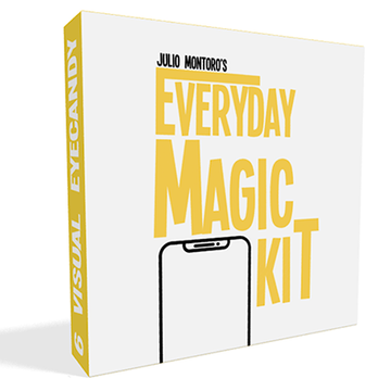 EVERYDAY MAGIC KIT (Gimmicks und online Anleitung) von Julio Montoro