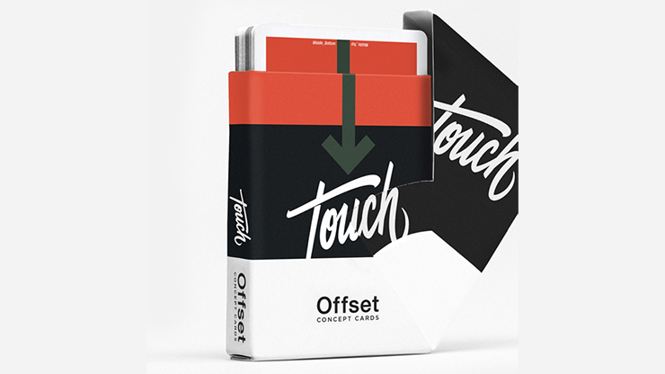 Offset Orange Playing Cards by Cardistry Touch - JCM STORE