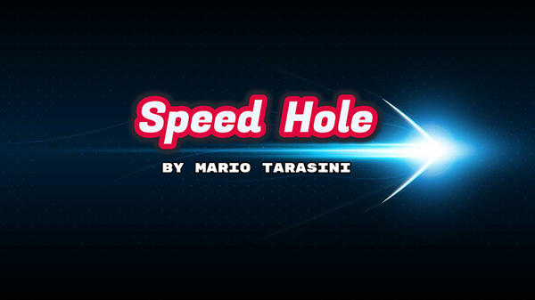 Speed Hole vonMario Tarasini video DOWNLOAD - JCM STORE