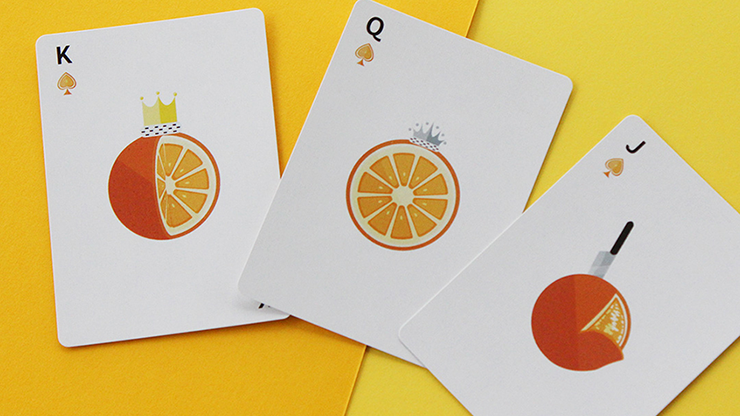CITRUS von FLAMINKO Playing Cards