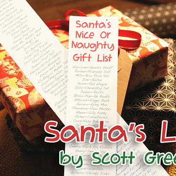 Santa's List von Scott Green - JCM STORE