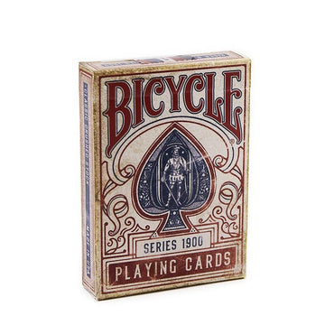Bicycle - 1900 Playing Cards - Rot