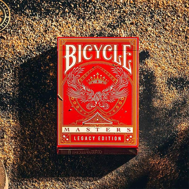 Bicycle - Legacy Masters - Rot