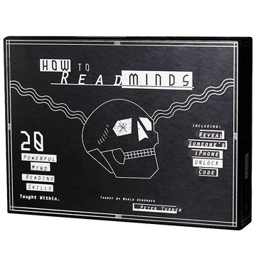 HOW TO READ MINDS KIT -  ELLUSIONIST - JCM STORE