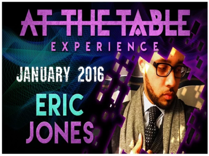 AT THE TABLE - LIVE LECTURE - ERIC JONES - VIDEO DOWNLOAD - JCM STORE