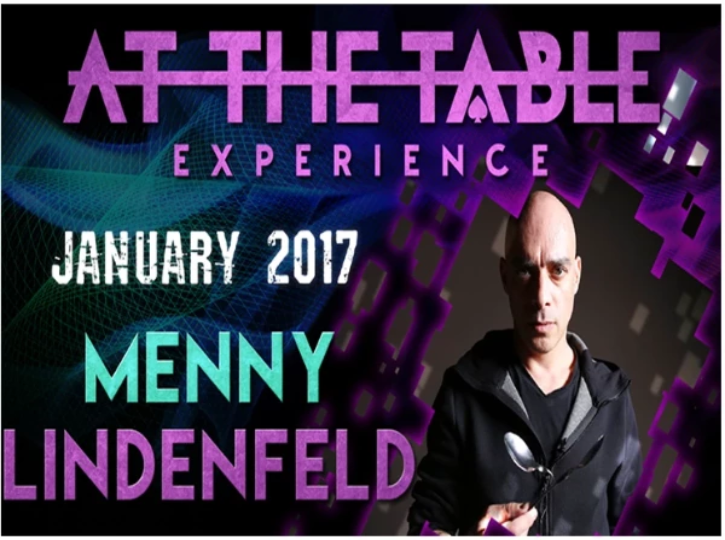 AT THE TABLE - LIVE LECTURE - MENNY LINDENFELD - VIDEO DOWNLOAD