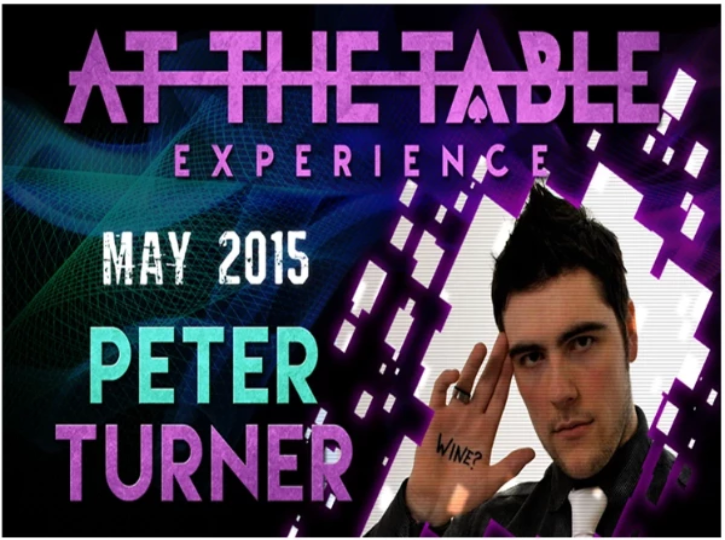 AT THE TABLE - LIVE LECTURE - PETER TURNER - VIDEO DOWNLOAD