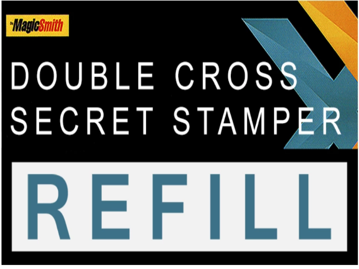 DOUBLE CROSS - MAGIC SMITH - SECRET STAMPER PART - REFILL