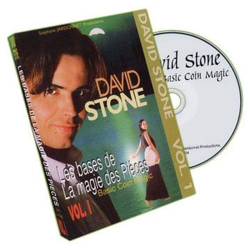BASIC COIN MAGIC VOL.1 - DAVID STONE - DVD - JCM STORE